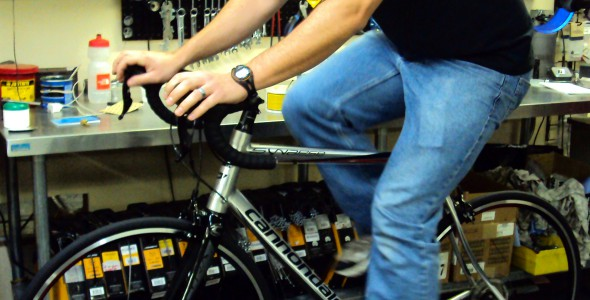 Bike Rollers for Service Departments